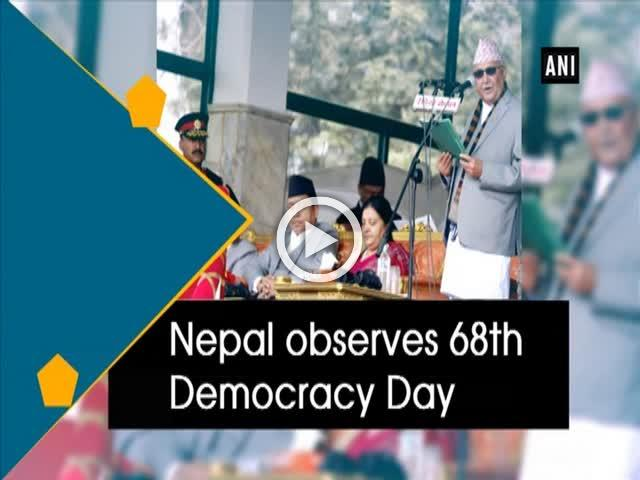 Nepal observes 68th Democracy Day