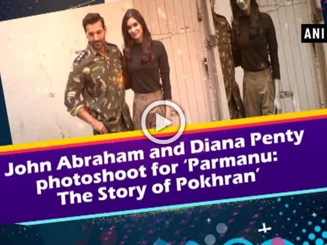 John Abraham and Diana Penty photoshoot for 'Parmanu: The Story of Pokhran'
