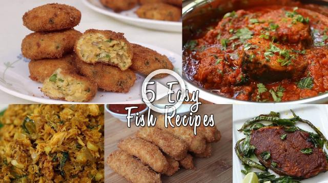 5 Easy Fish Recipes | Ventuno Home Cooking
