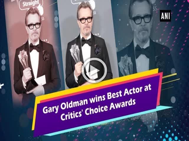 Gary Oldman wins Best Actor at Critics' Choice Awards
