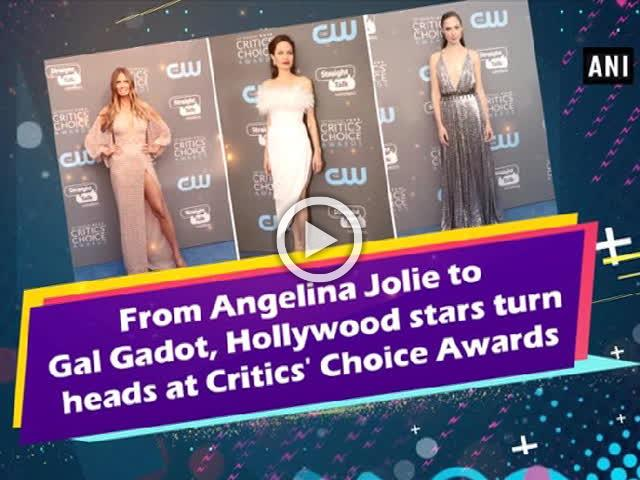 From Angelina Jolie to Gal Gadot, Hollywood stars turn heads at Critics' Choice Awards