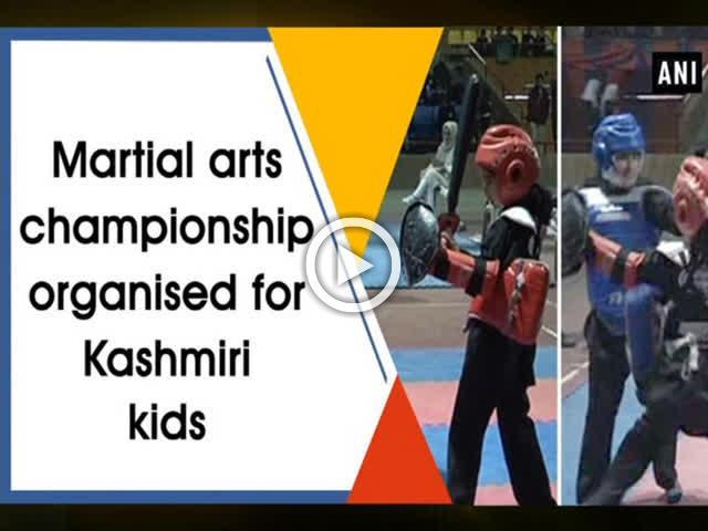 Martial arts championship organised for Kashmiri kids