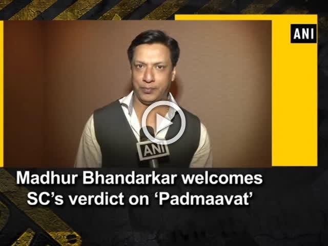 Madhur Bhandarkar welcomes SC's verdict on 'Padmaavat'