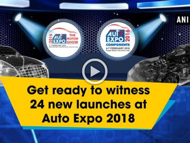 Get ready to witness 24 new launches at Auto Expo 2018
