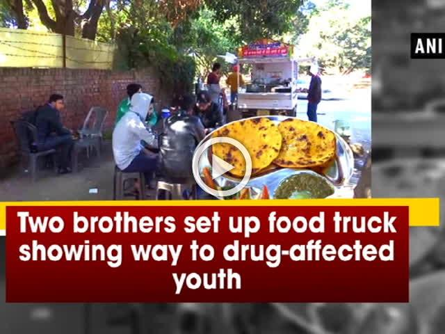 Two brothers set up food truck showing way to drug-affected youth