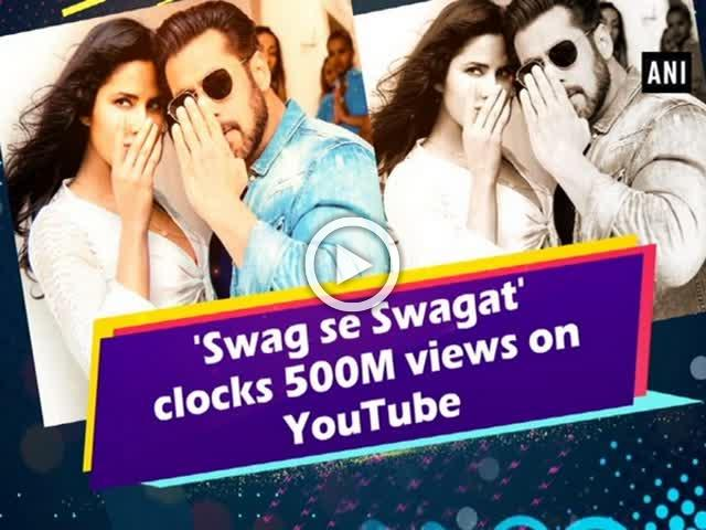 'Swag se Swagat' clocks 500M views on YouTube