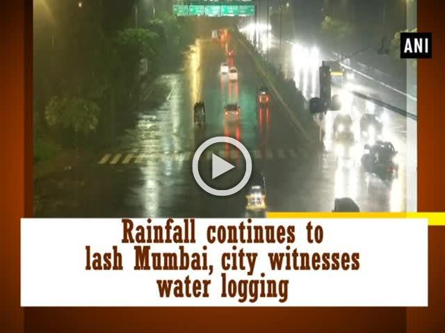 Rainfall continues to lash Mumbai, city witnesses water logging