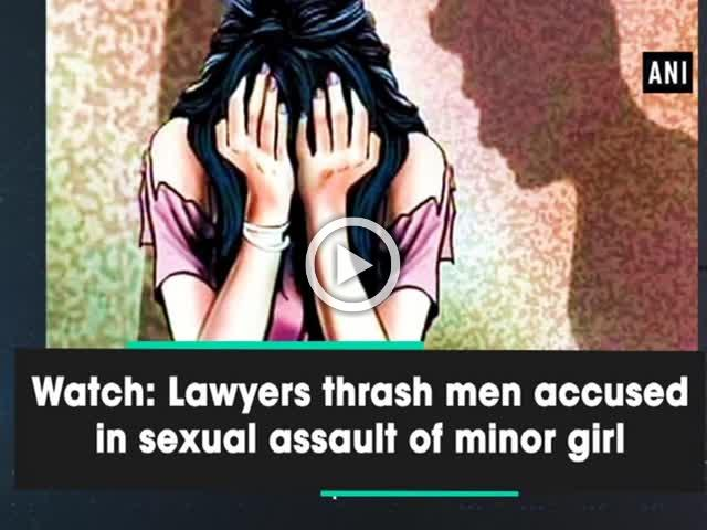 Watch: Lawyers thrash men accused in sexual assault of minor girl