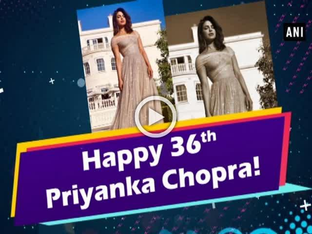 Priyanka Chopra turns 36!