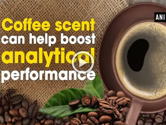 Coffee scent can help boost analytical performance