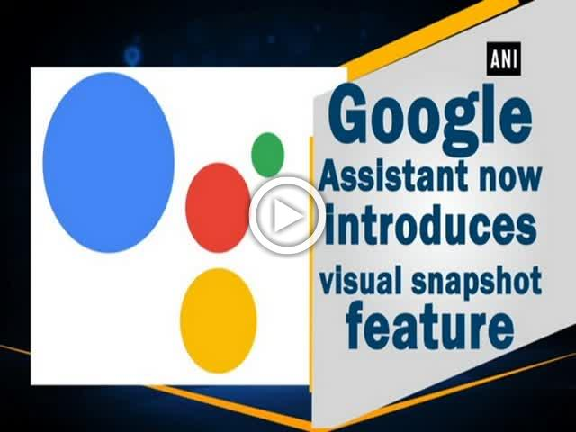 Google Assistant now introduces visual snapshot feature