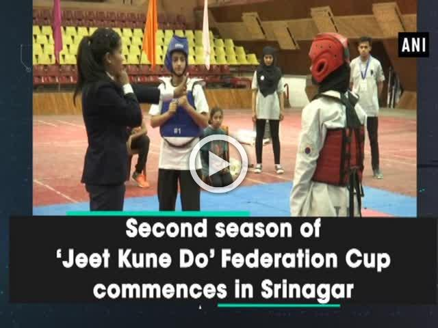 Second season of 'Jeet Kune Do' Federation Cup commences in Srinagar