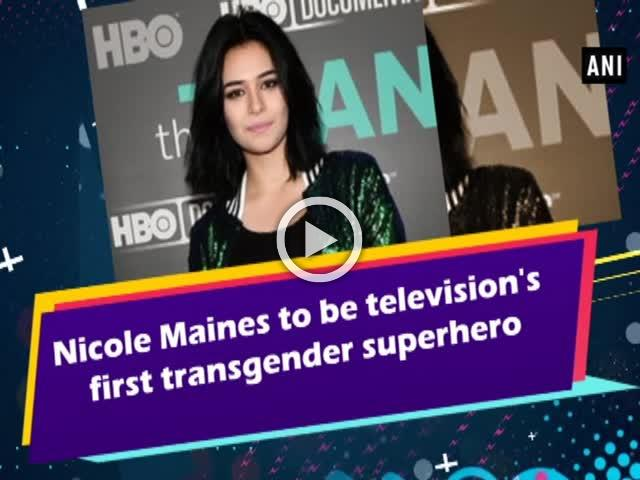 Nicole Maines to be television's first transgender superhero