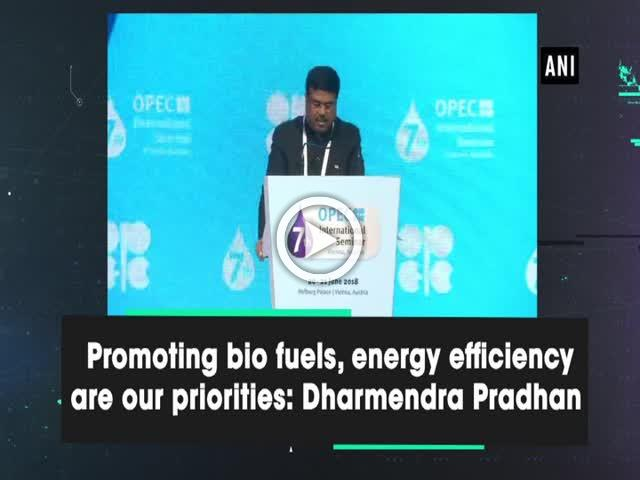 Promoting bio fuels, energy efficiency are our priorities: Dharmendra Pradhan