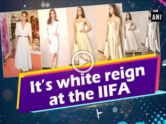 It's white reign at the IIFA