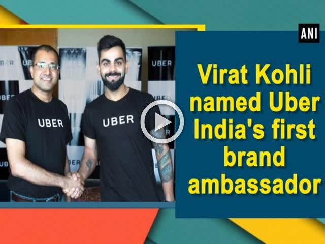 Virat Kohli named Uber India's first brand ambassador