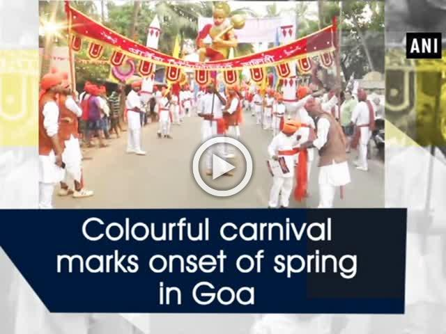 Colourful carnival marks onset of spring in Goa