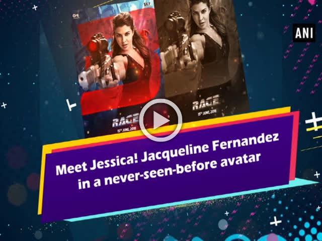 Meet Jessica! Jacqueline Fernandez in a never-seen-before avatar