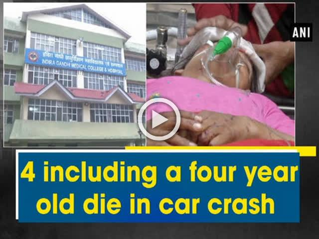 4 including a four year old die in car crash