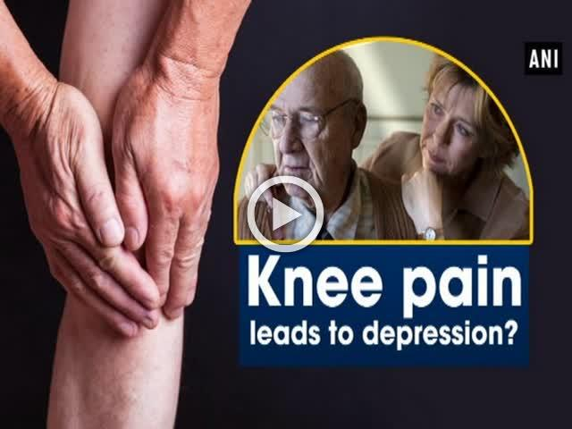 Knee pain leads to depression?