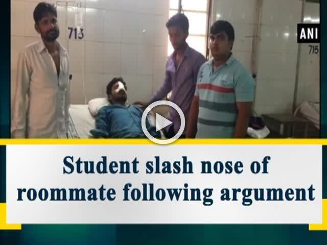 Student slash nose of roommate following argument