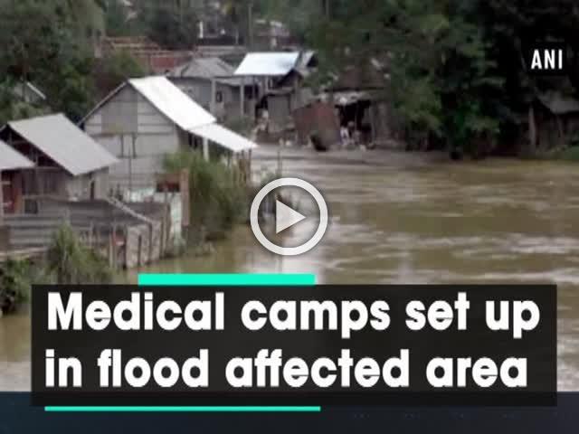 Medical camps set up in flood affected area