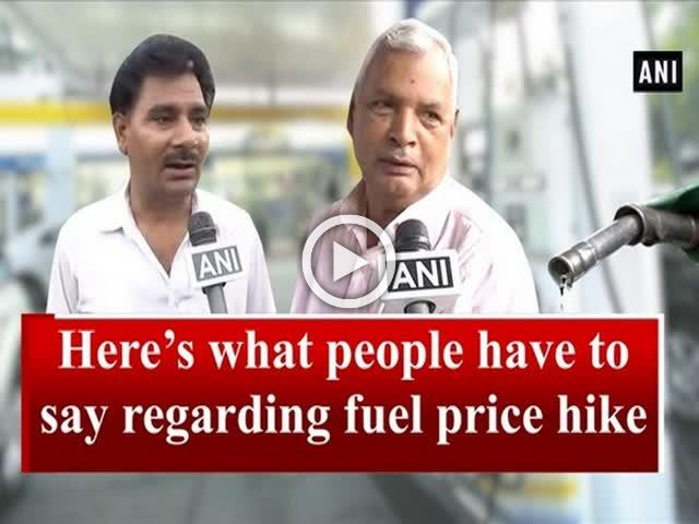 Fuel price hike: Here's what people have to say