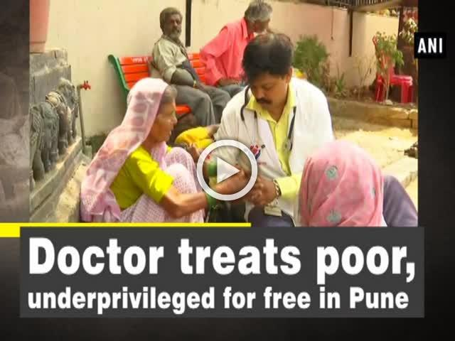 Doctor treats poor, underprivileged for free in Pune