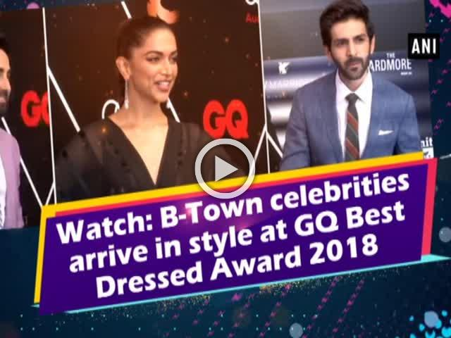 Watch: B-Town celebrities arrive in style at GQ Best Dressed Award 2018