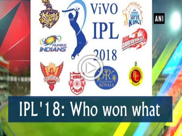 IPL '18: Who won what