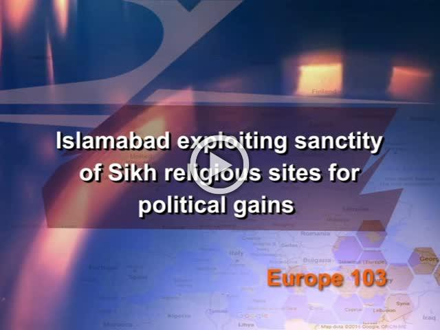 Islamabad exploiting sanctity of Sikh religious sites for political gains