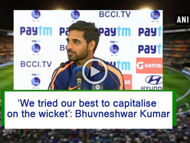 'We tried our best to capitalise on the wicket': Bhuvneshwar Kumar
