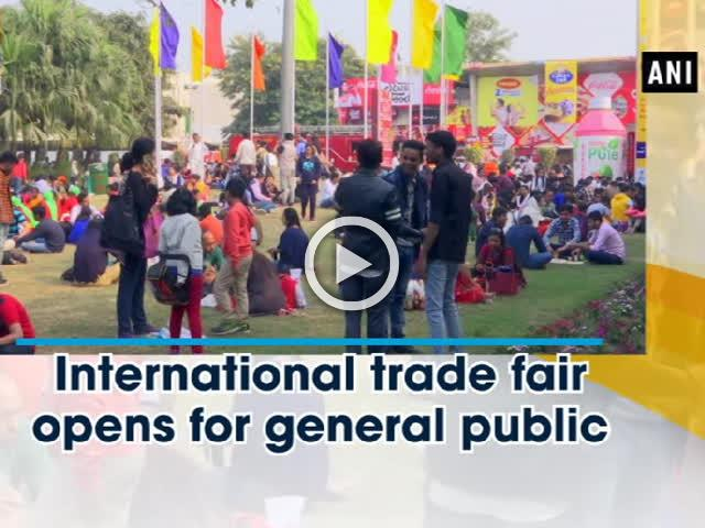 International trade fair opens for general public