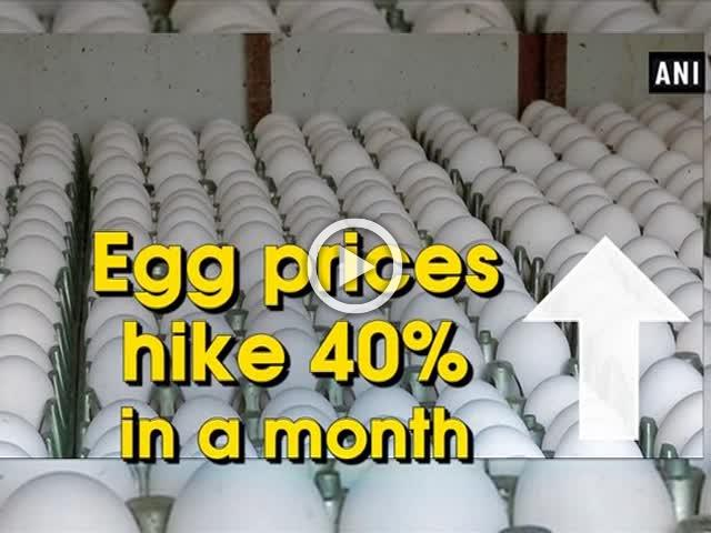 Egg prices hike 40% in a month