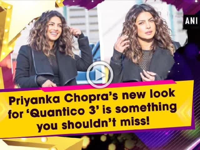 Priyanka Chopra's new look for 'Quantico 3' is something you shouldn't miss!