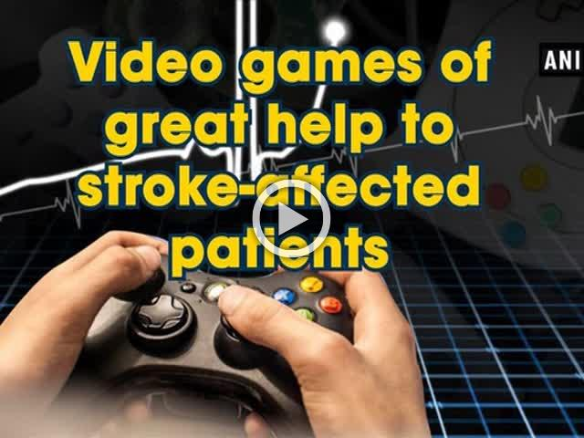 Video games of great help to stroke-affected patients