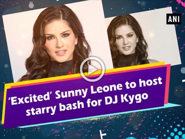 'Excited' Sunny Leone to host starry bash for DJ Kygo