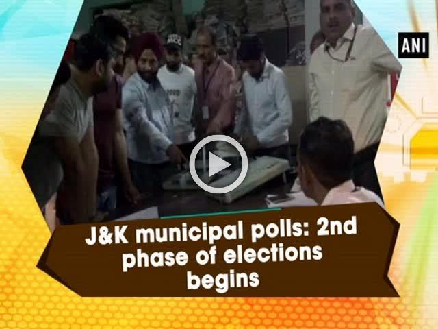 J&K municipal polls: 2nd phase of elections begins