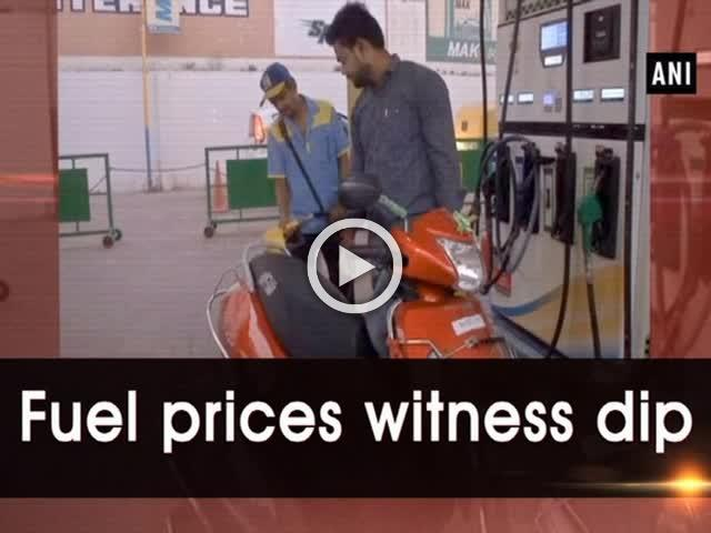 Fuel prices witness dip