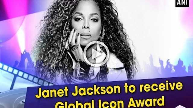 Janet Jackson to receive Global Icon Award