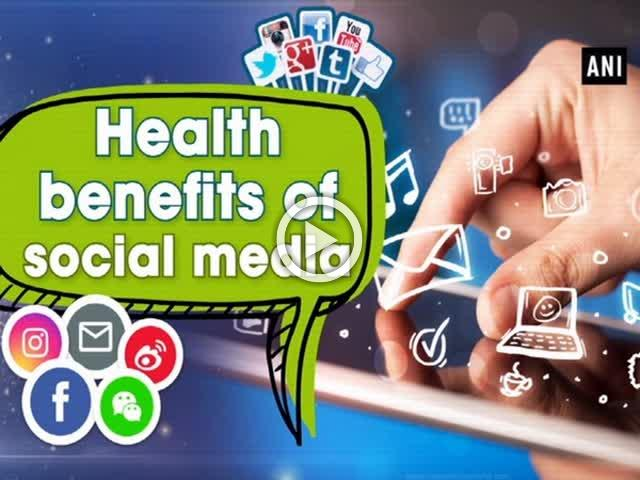 Health benefits of social media