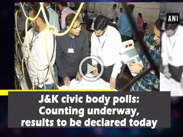 J&K civic body polls: Counting underway, results to be declared today