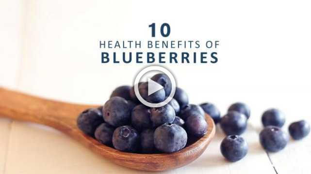 10 Amazing Health Benefits of Blueberries