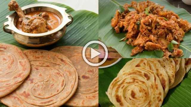 Parotta Recipes | Ventuno Home Cooking