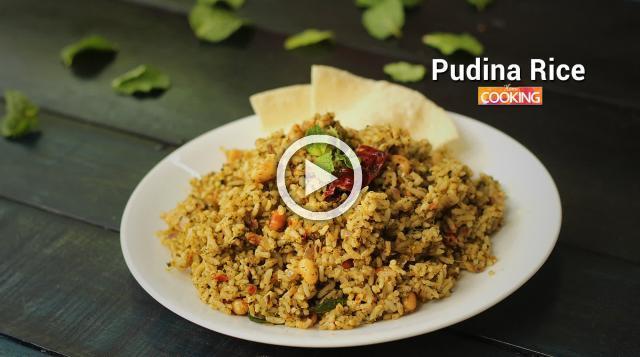 Pudina Rice | Ventuno Home Cooking