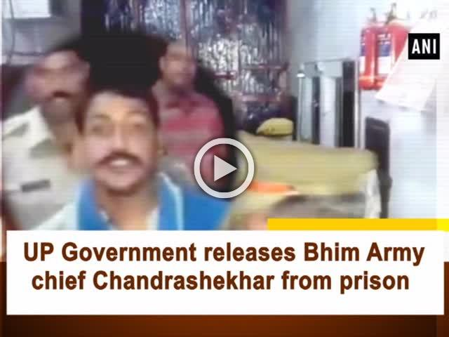 UP Government releases Bhim Army chief Chandrashekhar from prison
