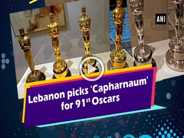 Lebanon picks 'Capharnaum' for 91st Oscars