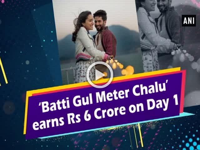 'Batti Gul Meter Chalu' earns Rs 6 Crore on Day 1