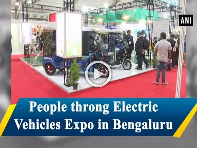 People throng Electric Vehicles Expo in Bengaluru