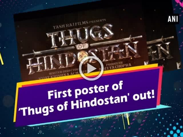 First poster of 'Thugs of Hindostan' out!